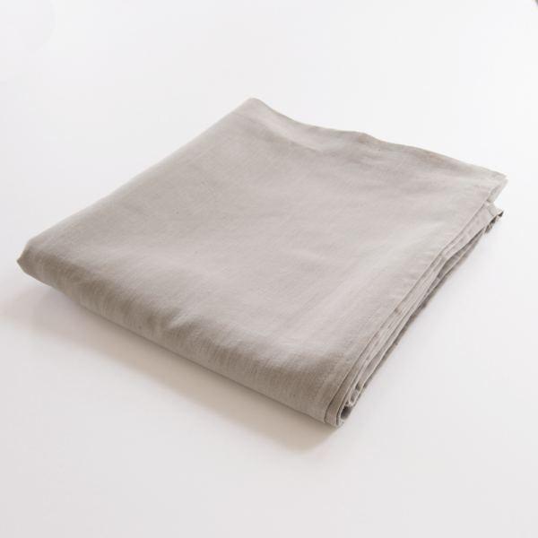 draps plats 100 lin drap plat couleur cendre. Black Bedroom Furniture Sets. Home Design Ideas